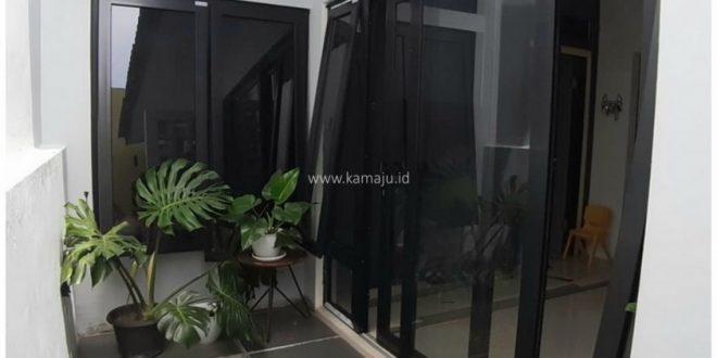 Kusen Pintu Jendela UPVC Warna Hitam yang Sedang Trend di Banda Aceh