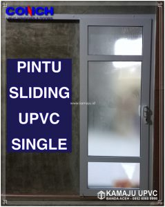 PINTU SLIDING UPVC SINGLE