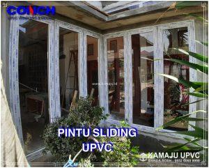 PINTU SLIDING UPVC DAN KACA