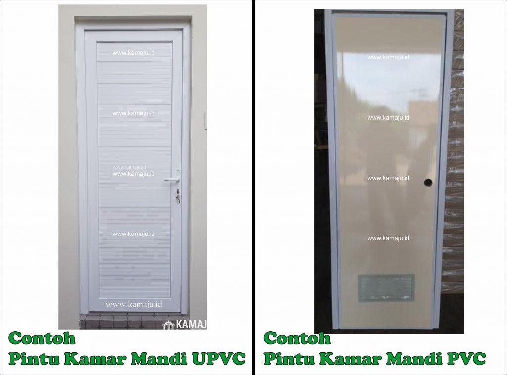 Perbedaan Pintu Kamar Mandi UPVC dan PVC