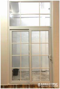 pintu sliding upvc, pintu geser upvc, pintu sorong upvc