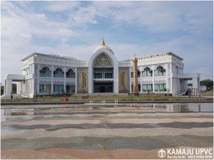 Pintu Jendela Kusen UPVC - Projek Gedung PCC Sigli (Kamaju UPVC Banda Aceh)