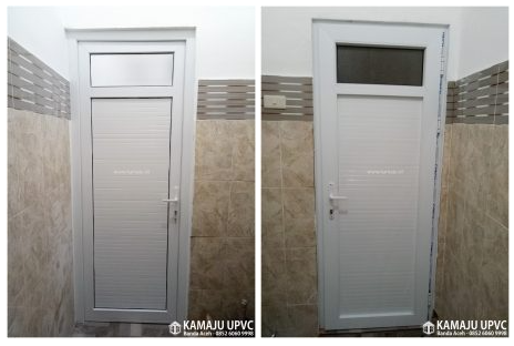 Pintu Kamar mandi UPVC banda aceh