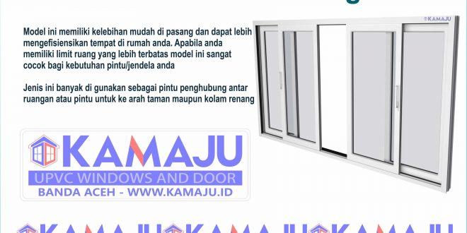 Pintu Sliding UPVC – Banda Aceh