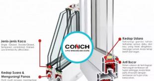 Conch UPVC | Banda Aceh