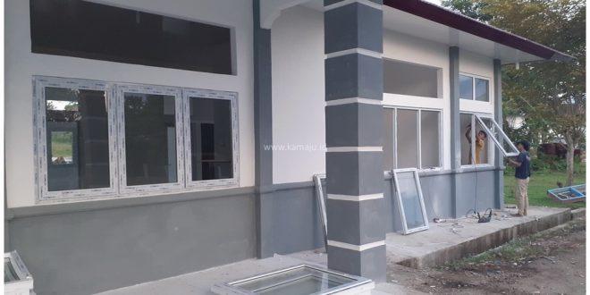 Proyek Pemasangan Jendela Kaca | Gedung ODP Jantho