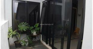 pintu dan jendelka upvc warna hitam