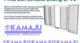 Pintu dan Jendela Geser UPVC